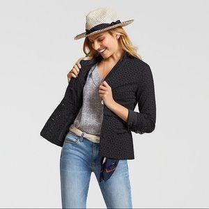 Cabi Flamenco Jacket, black eyelet, Size 6